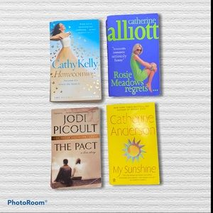 4 Books for $20